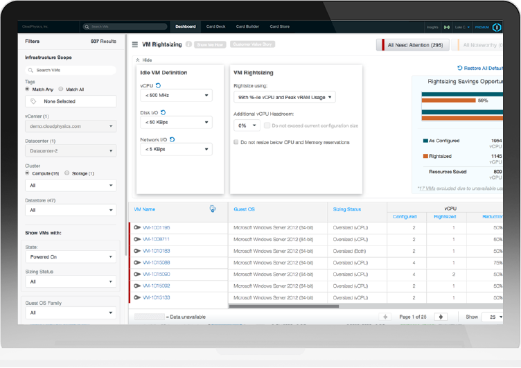 CloudPhysics - Collaborative Intelligence for the Cloud and
