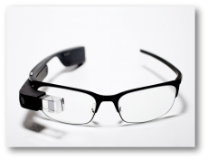 googleglass with shadow